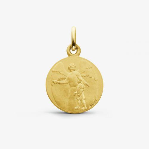 Médaille de baptême Ange Gardien jeune fille