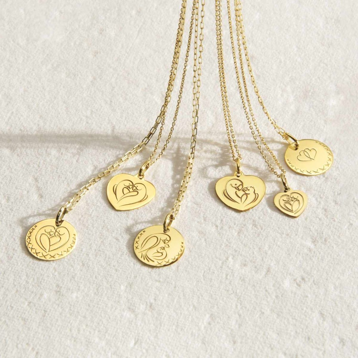 Collection médailles Love Bird