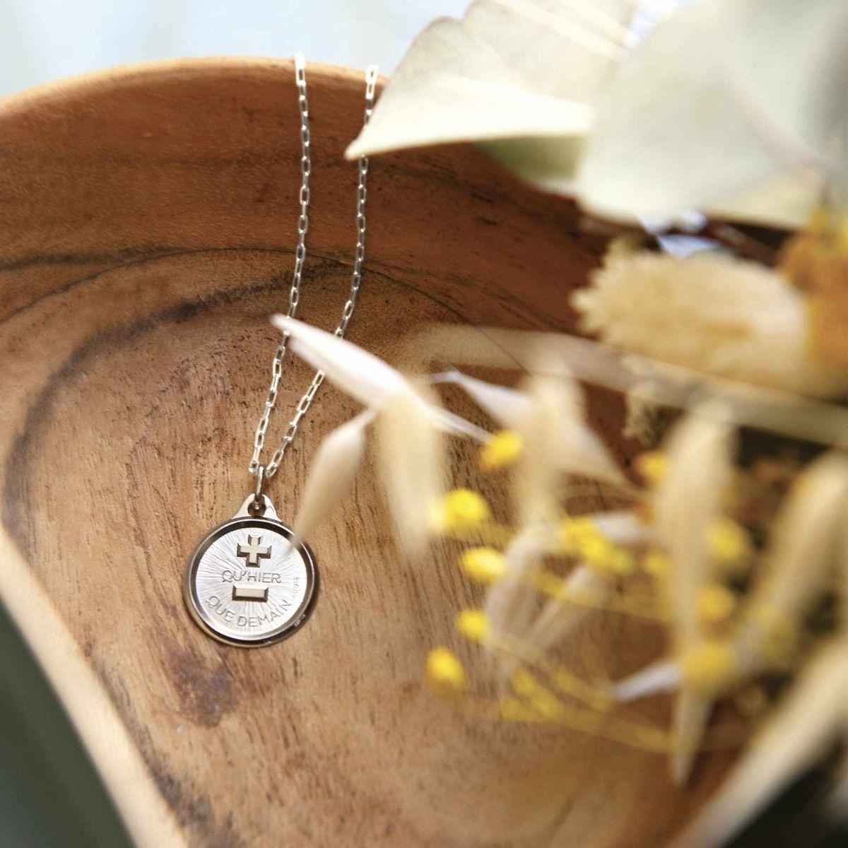 La Médaille d'Amour L'Originale Or Blanc