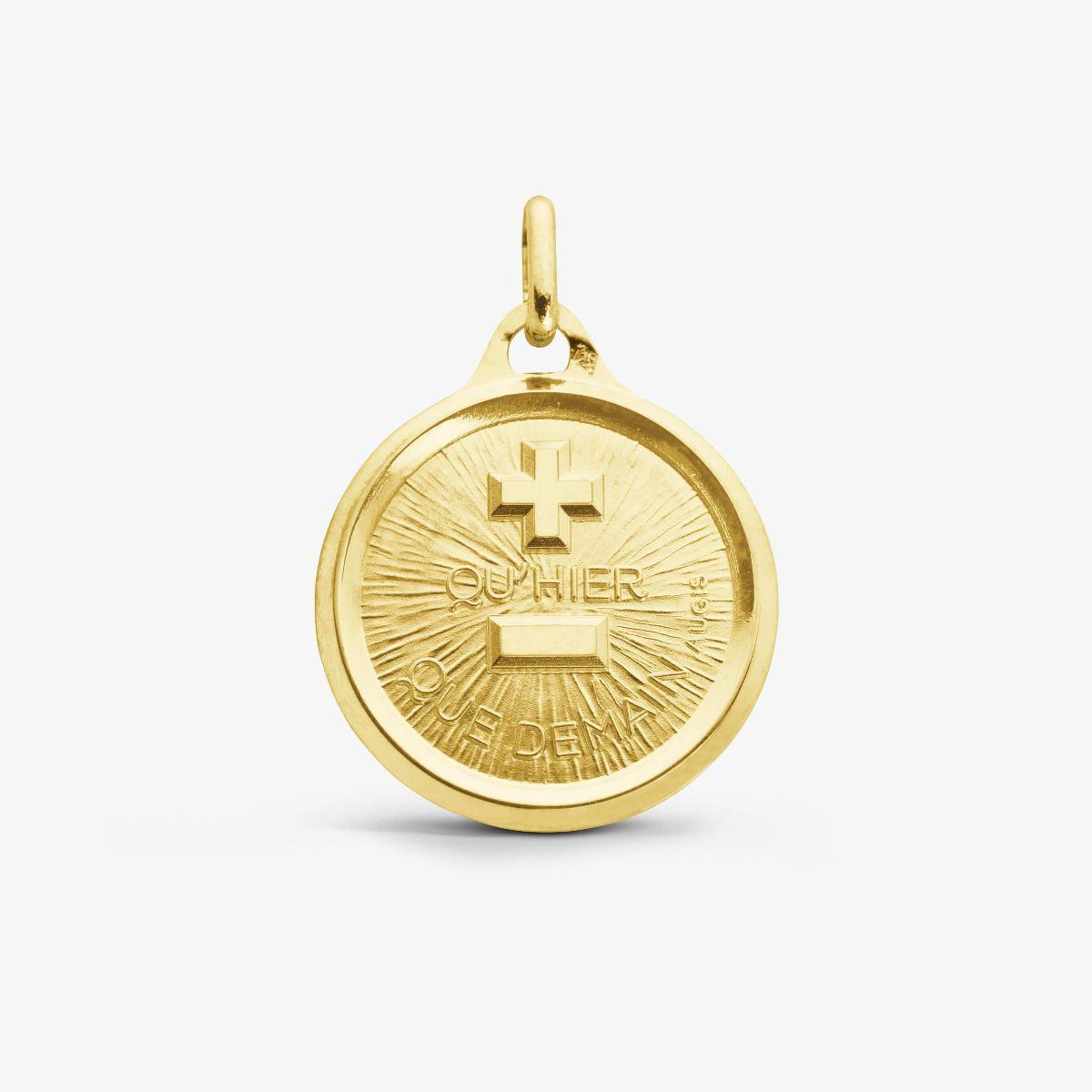 La Médaille d'Amour L'Originale Or Jaune 18 carats - 18 mm