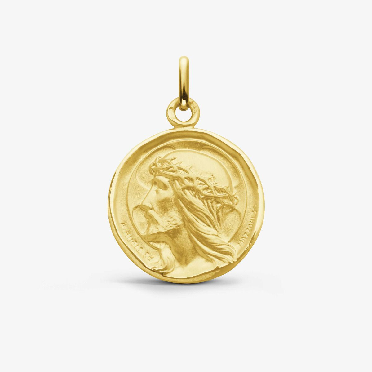 Médaille Christ Ecce Homo Or Jaune 18 carats - 18 mm
