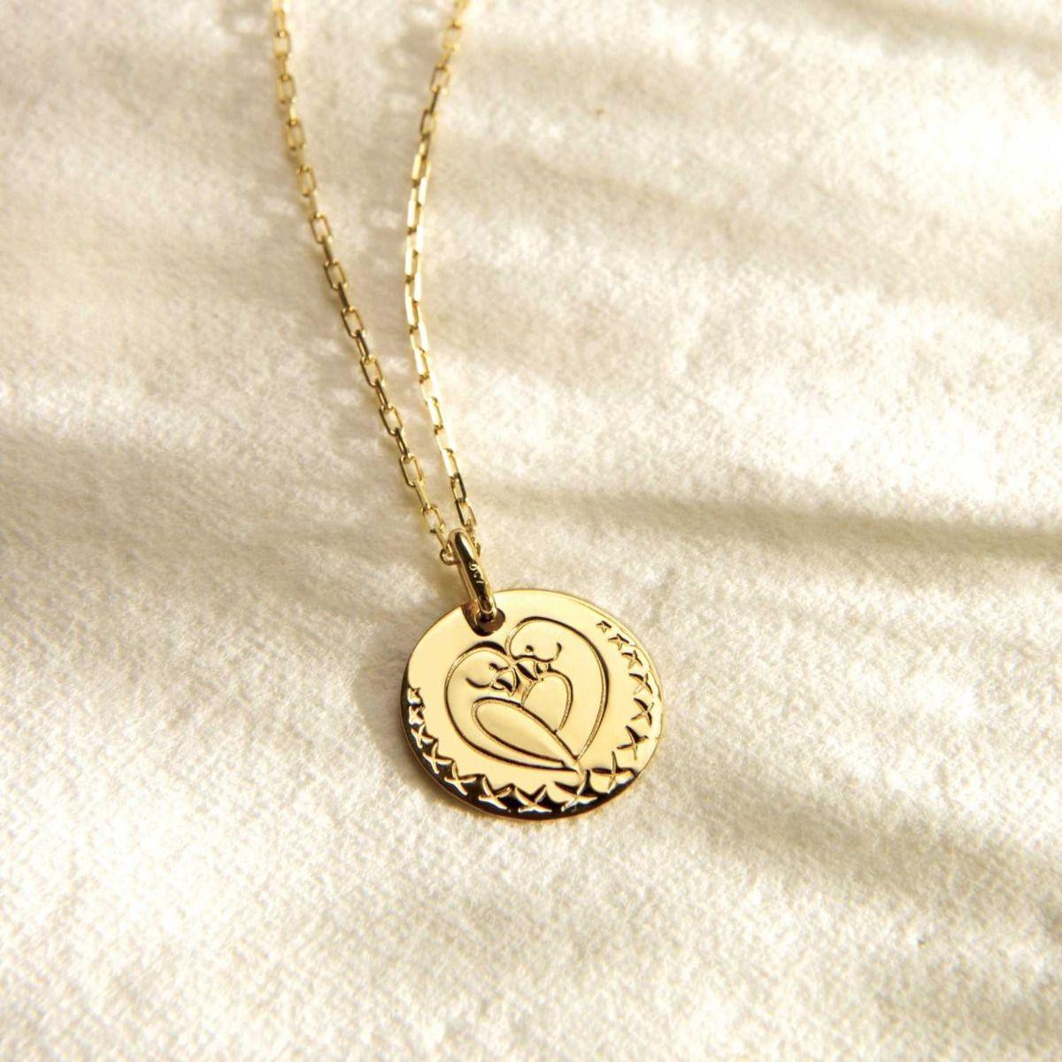 Médaille Love Bird 16mm
