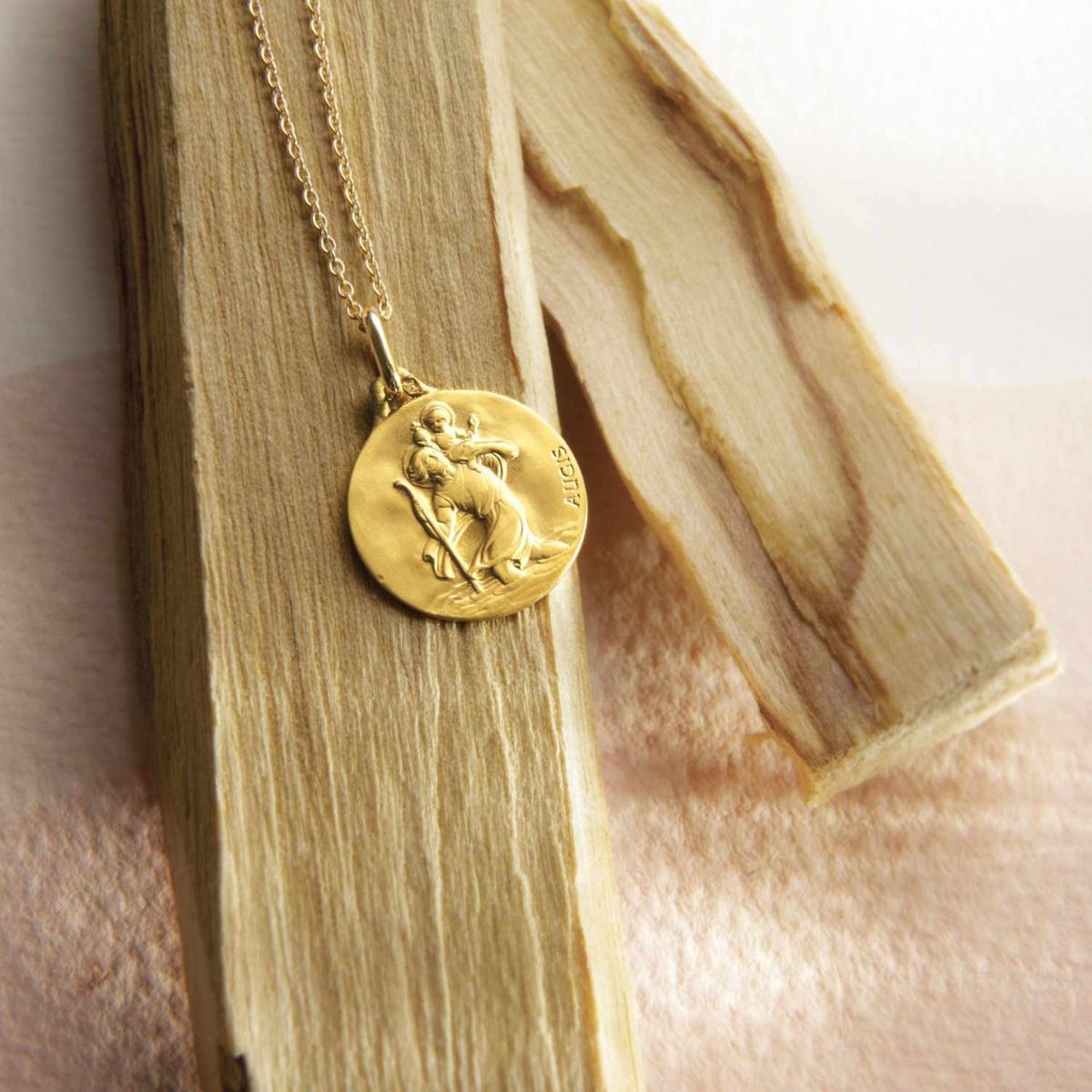 médaille Saint Christophe 18mm