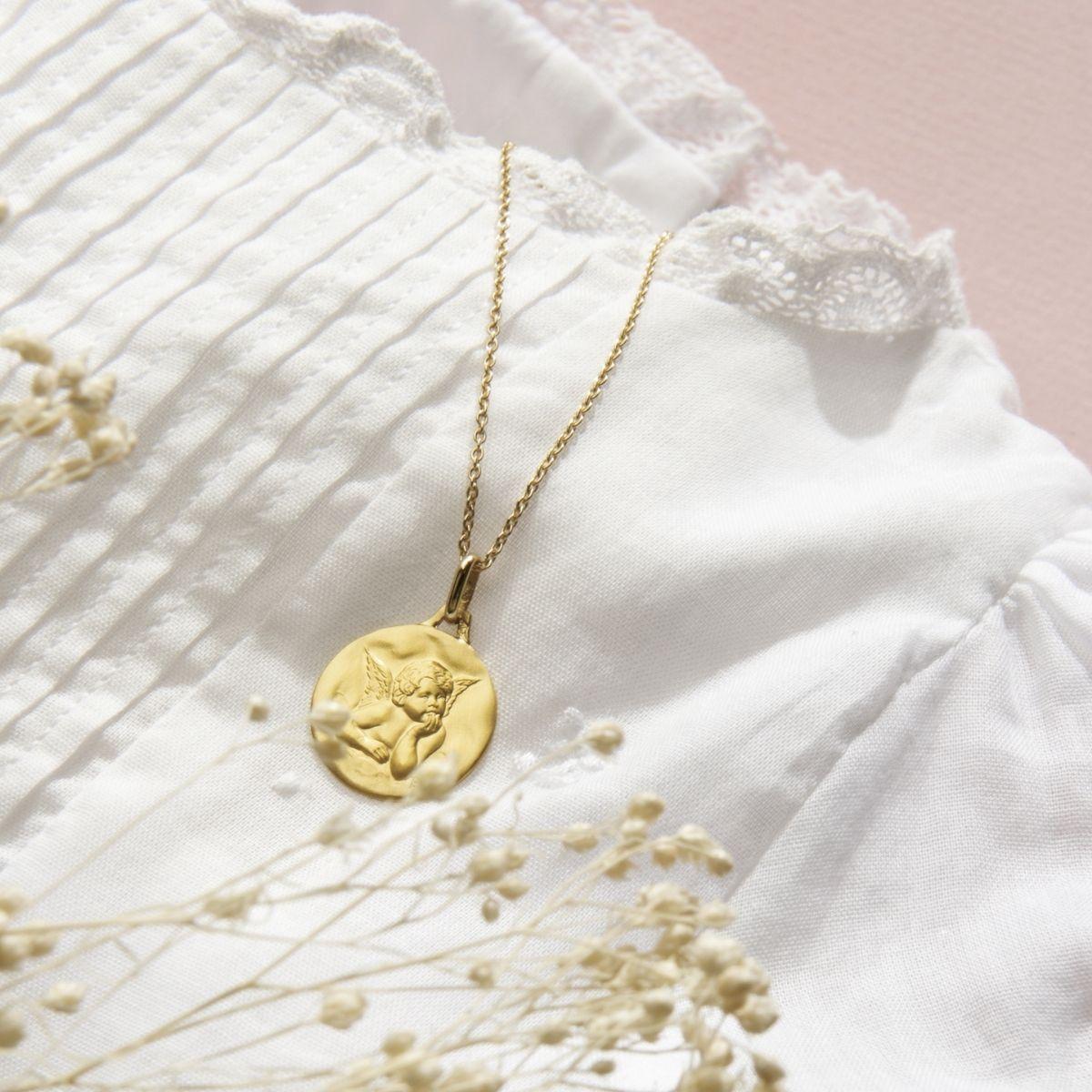 Médaille baptême Ange